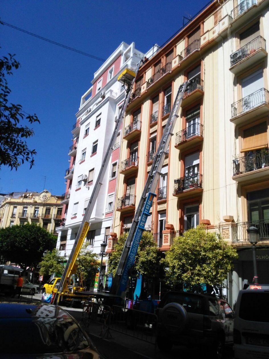 Nuestros elevadores en Valencia